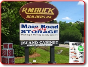 Mount Pleasant self storage from Main Road Self Storage - Johns Island