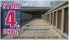 Houston self storage from Store 4 Cheap