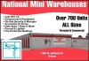 Urbana self storage from National Mini Warehouses