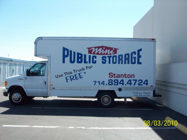 11342 Western Ave Stanton, CA 90680 - Moving Truck
