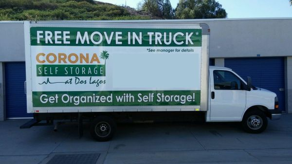 21702 Temescal Canyon Rd Corona, CA 92883 - Moving Truck