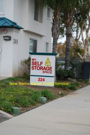 224 N McPherson Rd Orange, CA 92869 - Signage
