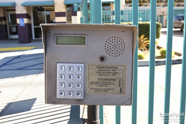 1934 E Taft Ave Orange, CA 92865 - Security Keypad