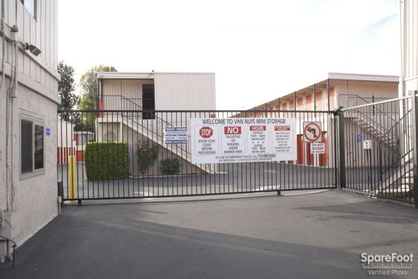 9635 Van Nuys Blvd Panorama City, CA 91402 - Security Gate
