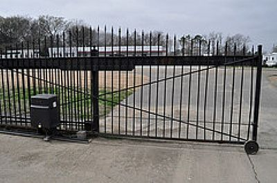 6602 Highway 161 Walls, MS 38680 - Security Gate