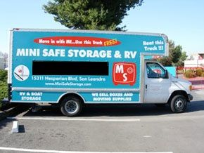 15311 Hesperian Blvd San Leandro, CA 94578 - Moving Truck