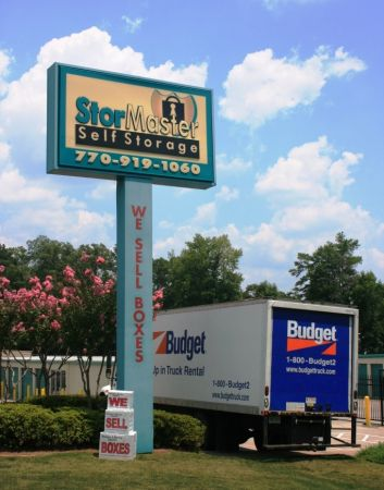 1401 Powder Springs Rd SW Marietta, GA 30064 - Signage|Moving Truck