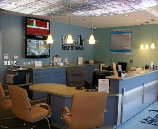 151 14th St NW Atlanta, GA 30318 - Front Office Interior