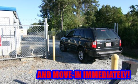 65 Perry Dr Snow Hill, NC 28580 - Security Gate