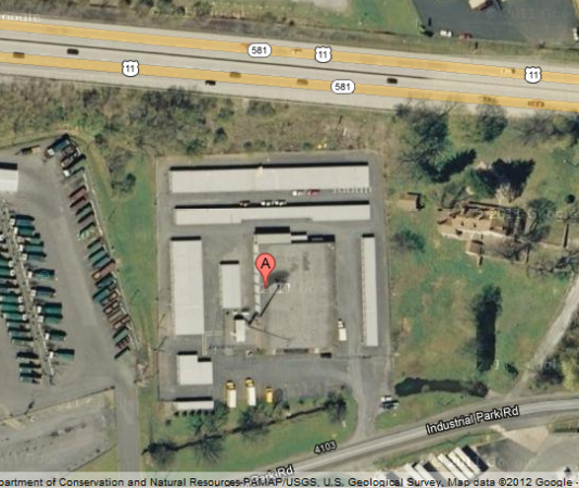 3960 Industrial Park Rd Camp Hill, PA 17011 - Aerial View