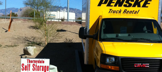 6955 N Thornydale Rd Tucson, AZ 85741 - Moving Truck