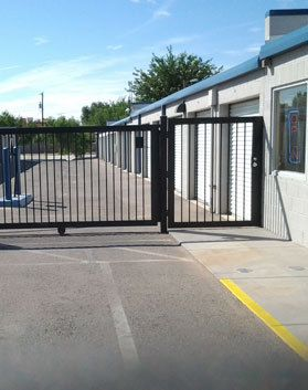 1100 E Madrid Ave Las Cruces, NM 88001 - Security Gate