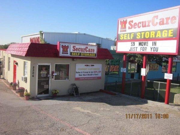 SecurCare Self Storage   Arlington   N. Collins St.   2306 N Collins St