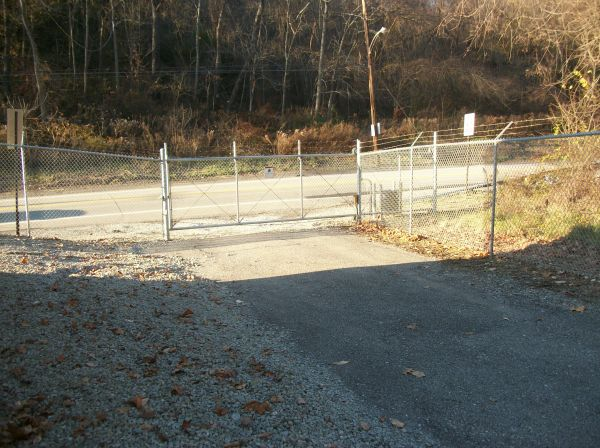 640 Eden Park Blvd Mckeesport, PA 15132 - Security Gate
