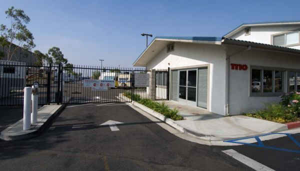 1110 W Foothill Blvd Azusa, CA 91702 - Security Gate