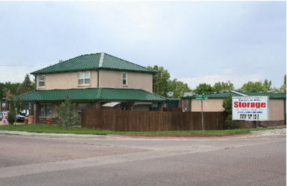 74 North Amherst Street Colorado Springs, CO 80911 - Road Frontage