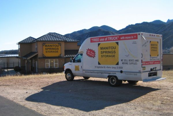 125 Higginbotham Rd Manitou Springs, CO 80829 - Moving Truck