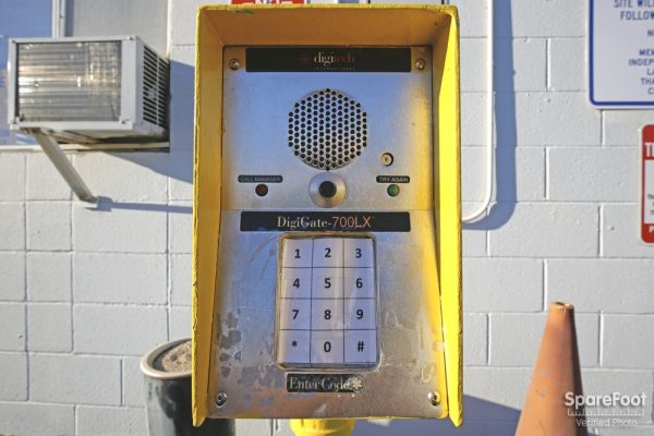 600 S. Garfield Ave. Alhambra, CA 91801 - Security Keypad