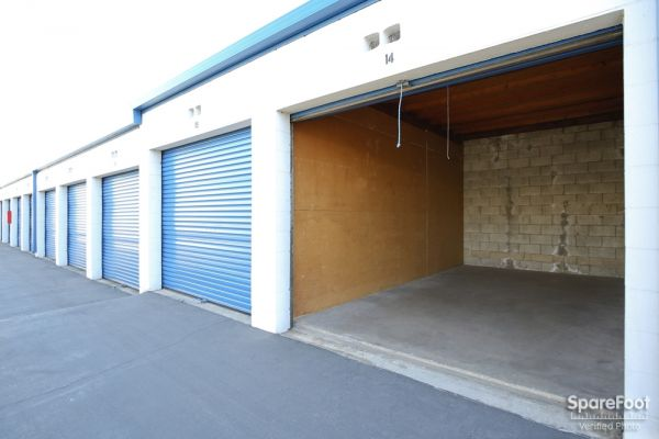 600 S. Garfield Ave. Alhambra, CA 91801 - Interior of a Unit|Drive-up Units|Driving Aisle