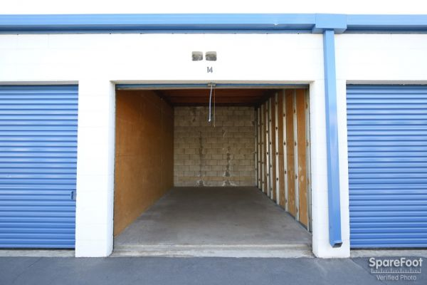 600 S. Garfield Ave. Alhambra, CA 91801 - Interior of a Unit|Drive-up Units
