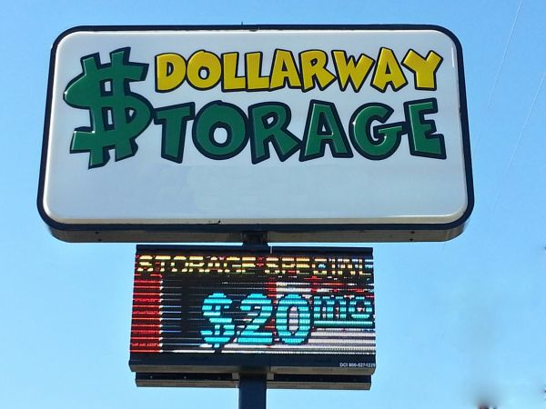 4500 Dollarway Road Pine Bluff, AR 71602 - Signage