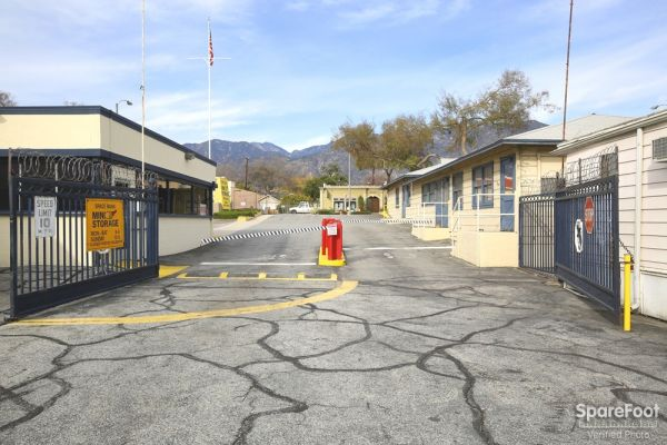 3202 East Foothill Boulevard Pasadena, CA 91107 - Security Gate|Drive-up Units|Driving Aisle