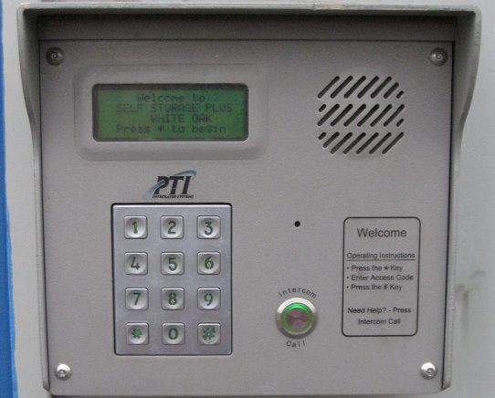 11105 New Hampshire Avenue Silver Spring, MD 20904 - Security Keypad