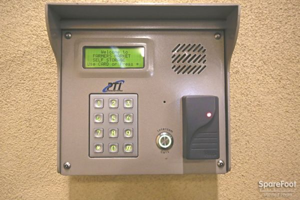 111 The Grove Dr Los Angeles, CA 90036 - Security Keypad