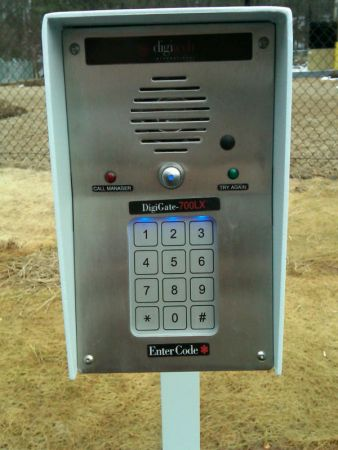 5306 Old Wake Forest Rd Raleigh, NC 27609 - Security Keypad