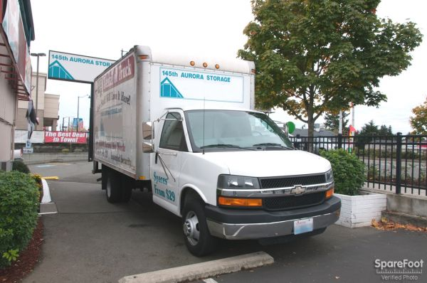 14540 Aurora Avenue North Shoreline, WA 98133 - Moving Truck