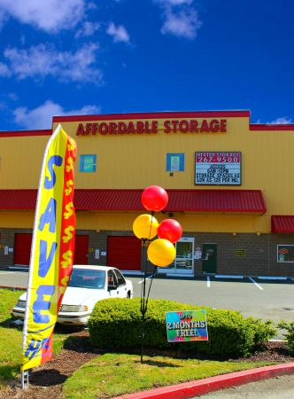 Affordable Self Storage   Everett   222 SW Everett Mall Way