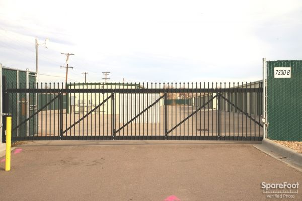 7330 Brighton Road Commerce City, CO 80022 - Security Gate