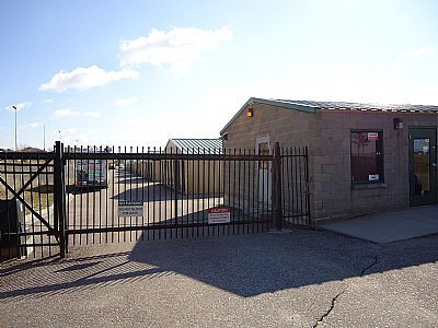 10724 Chandler Road La Vista, NE 68128 - Security Gate