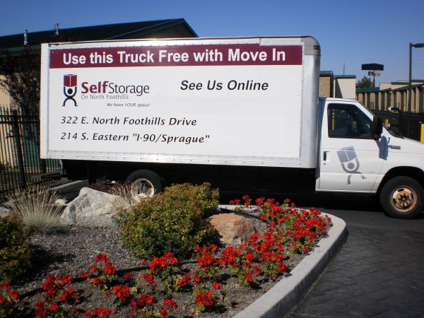 214 South Eastern Road Spokane Valley, WA 99212 - Moving Truck