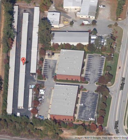 931 Trinity Road Raleigh, NC 27607 - Aerial View