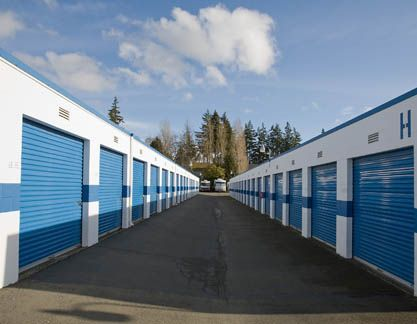 17828 Midvale Avenue North Shoreline, WA 98133 - Drive-up Units