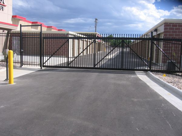 5200 East Evans Avenue Denver, CO 80222 - Security Gate