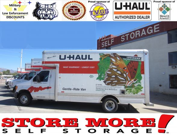 6750 East Tanque Verde Road Tucson, AZ 85715 - Moving Truck