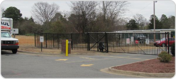 3715 Prince St Conway, AR 72034 - Security Gate