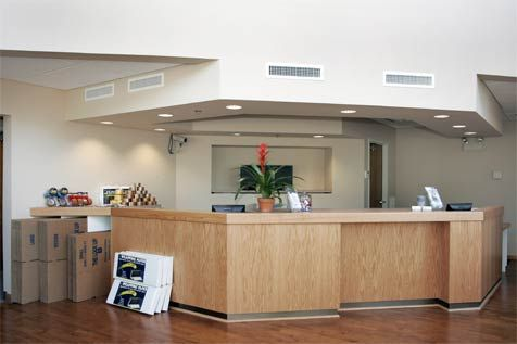 380 Mark Tree Road Setauket- East Setauket, NY 11733 - Front Office Interior