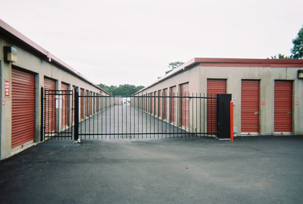 251 Whites Path Yarmouth, MA 02664 - Security Gate|Drive-up Units|Driving Aisle