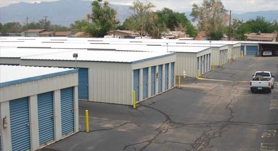 6650 Edith Boulevard Northeast Albuquerque, NM 87113 - Drive-up Units|Driving Aisle