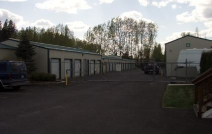 11515 North Market Street Mead, WA 99021 - Driving Aisle|Security Gate|Drive-up Units