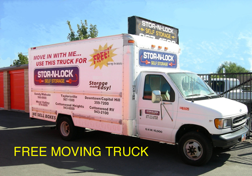 4930 South Redwood Road Taylorsville, UT 84123 - Moving Truck