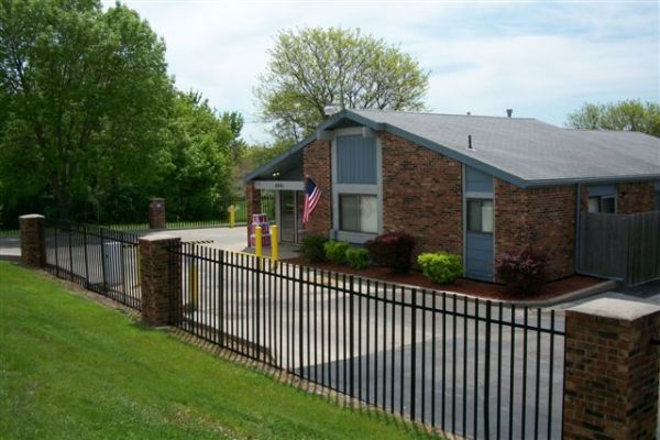 8901 Troost Avenue Kansas City, MO 64131 - Security Gate