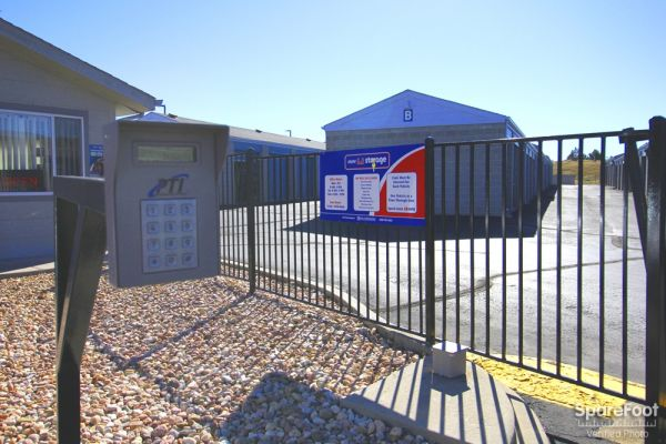 6678 E County Line Rd Highlands Ranch, CO 80126 - Security Gate|Drive-up Units|Driving Aisle