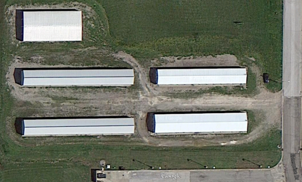 265 Enterprise Drive Girard, KS 66743 - Aerial View