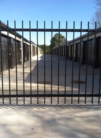 13208 Burgreen Road Madison, AL 35756 - Security Gate|Drive-up Units|Driving Aisle