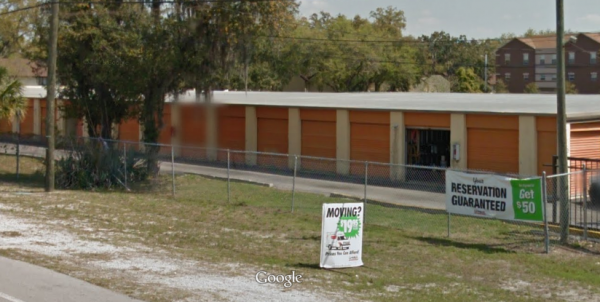 12225 North 56th Street Tampa, FL 33617 - Road Frontage|Drive-up Units|Driving Aisle