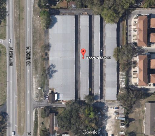 12225 North 56th Street Tampa, FL 33617 - Aerial View